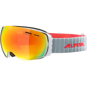 Alpina Granby MM Goggles white red spherical